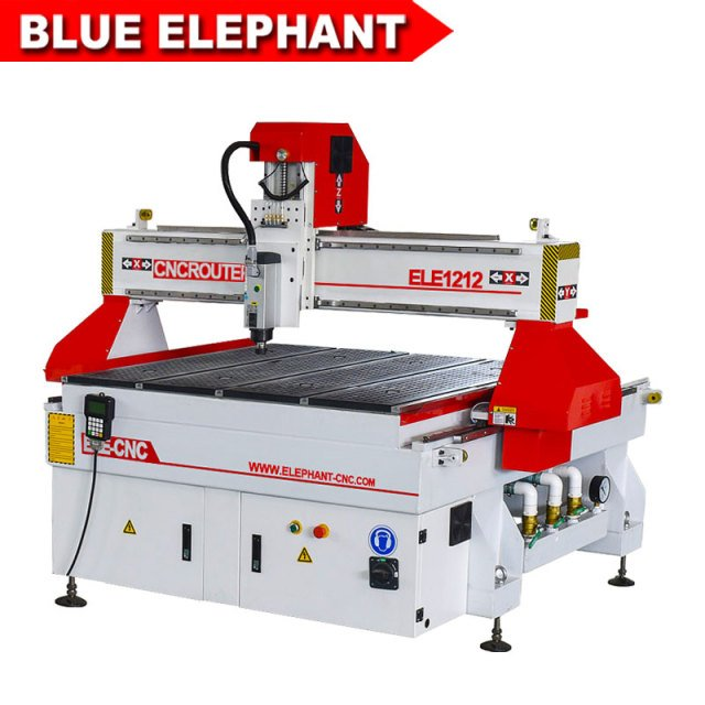 1212 woodworking cnc router machine from china 3kw italian hsd spindle, small cnc milling machine