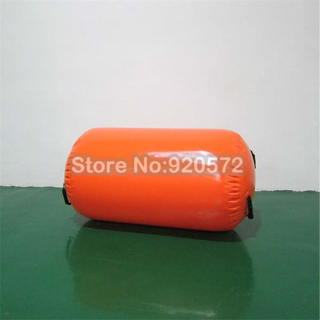 Free Shipping 80cm diameter Inflatable Air Roll, Inflatable Air Barrel, Air Tumble Roll For Gym
