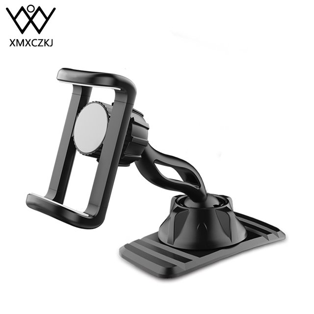 XMXCZKJ Car Phone Holder Mount Stand Holder For Cell Phone in Car GPS Display Dashboard Bracket For iPhone Xiaomi Samsung Huawei