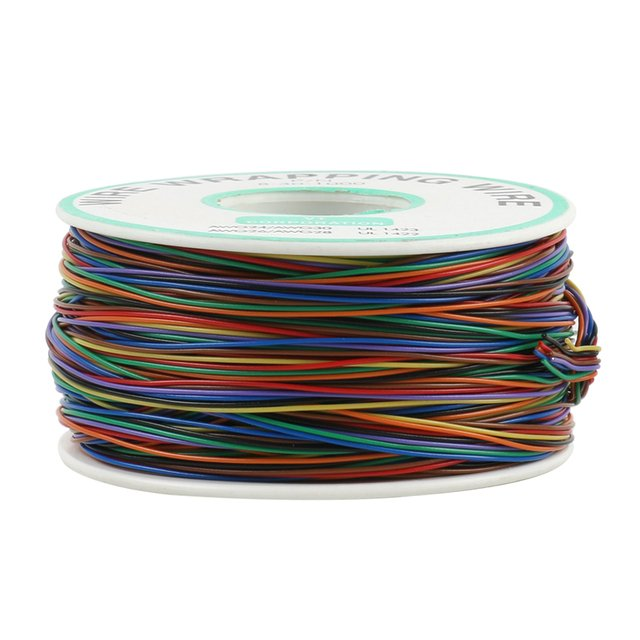 Newest 8 Color Wrapping Wire 200 Meters AWG30 Cable Ok Wire Jumper Wire