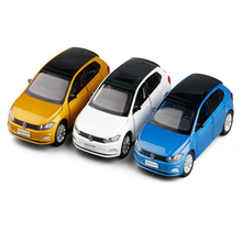 1:32 High Simulation Volkswagen Polo Metal Toys Car Alloy Diecasting Sound And Light Car Model Boys Gift Toys For Children's