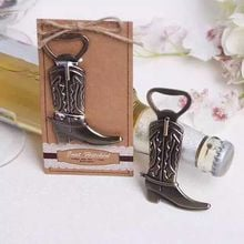 Free Shipping 10pcs/lot wedding favor gift and giveaways for guest -- Boots shoes bottle opener party favor souvenir