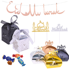 1set Happy Eid Mubarak Banner Paper Ramadan Dessert Cake Toppers Candy Gift Boxes For Islamic Muslim Eid Diy Party Deco Supplies Buy Cheap In An Online Store With Delivery Price Comparison