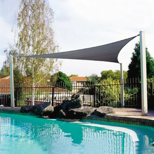 2020 Triangle 300D Waterproof Rectangle Awning Sun shading net Shade Sail Outdoor Sun Shelter Awning Camping Shade Cloth Large