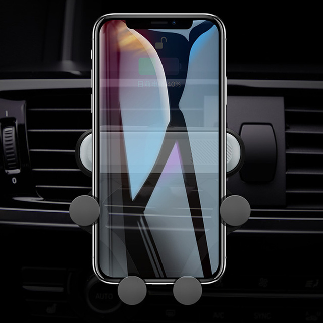 Phone Holder for Xiaomi Redmi Note 7 Car GPS Air Vent Mount No Magnetic Cell Phone Stand Holder for Iphone Samsung Huawei Stand