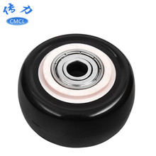 Manufacturers Direct Selling 2-Inch Gold Diamand Single Wheel Diameter 5cm Bearing Mute dan lun pian Two-Inch Black And White wi