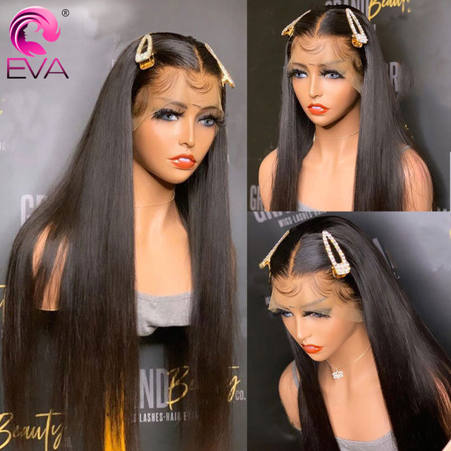 360 Lace Frontal Wig Pre Plucked Bleached Knots Wigs Brazilian Remy Straight Lace Front Human Hair Wigs For Black Women Eva Hair Buy Cheap In An Online Store With Delivery Price