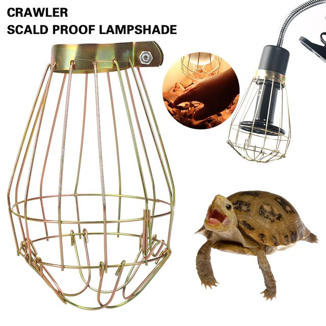 Lamp Shade Iron Guard Portable Lamp Cover 10 * 14cm Copper Indoor Decoration Home Household Explosion-Proof