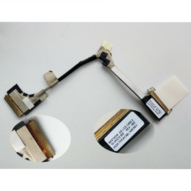 04W3907 LCD LED Cable For Lenovo ThinkPad X1 Carbon Type-3443/44 /46/48/60/62/63 50.4RQ12.002 50.4RQ12.001
