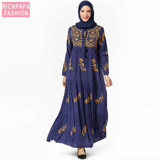 Abaya Turkish Dresses Islamic Malaysia Muslim Hijab Dress Abayas For Women Kleding Robe Musulmane Kaftan Dubai Islam Clothing Buy Inexpensively In The Online Store With Delivery Price Comparison Specifications Photos