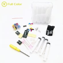 Tintenmeer diy continuous supply CISS modification tool with accessories for hp for canon One-piece ink cartridge