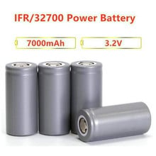 12pcs Lifepo4 battery 32700 7000mAh 3.2V 5C discharge rechargeable batteries LiFePO4 cell for Backup Power flashlight