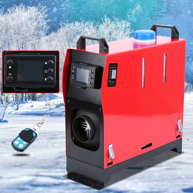 Samger All In One Diesel Heater 12v 5kw Air Parking Heater With LCD Monitor for webasto 12v diesel Car Motorhome Trailer Boat