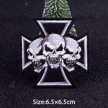 Skull Punk Patch Biker Iron On Patches For Clothing Embroidered Patches On Clothes Letter Stickers Patch Clothes Badges Applique Buy Cheap In An Online Store With Delivery Price Comparison Specifications Photos