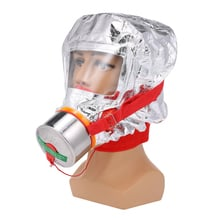 Fire Eacape Face Mask Self-rescue Respirator Gas Mask Smoke Protective Face Cover Personal Emergency Escape Hood