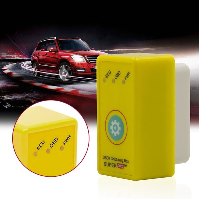 New Super OBD2 Nitro OBD2 ECU Chip Tuning Box Plug And Drive Interface Tuning Box For Gasoline Vehicles With Reset Button Hot