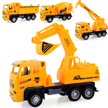 Kids Simulation Engineering Car Toy  Excavator Model Toy  Truck Model Car Toy Gift for Children