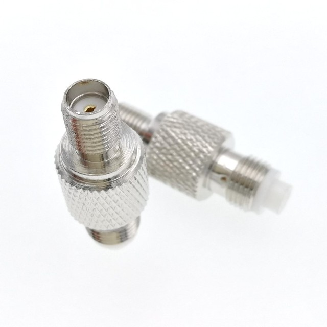 FME Female Jack To SMA Female Jack SMA-FME RF Coaxial Adapter Connector