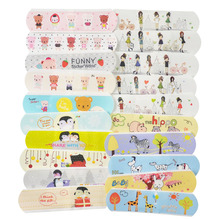 100Pcs Waterproof Adhesive Bandage First Aid Breathable First Aid Kit Medical Hemostatic Stickers Kids Children Adult for Drop