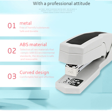 Rotary Stapler Book Sewer Bookbinding Machine Rotatable Binder Durable Office Practical 24/6 26/6