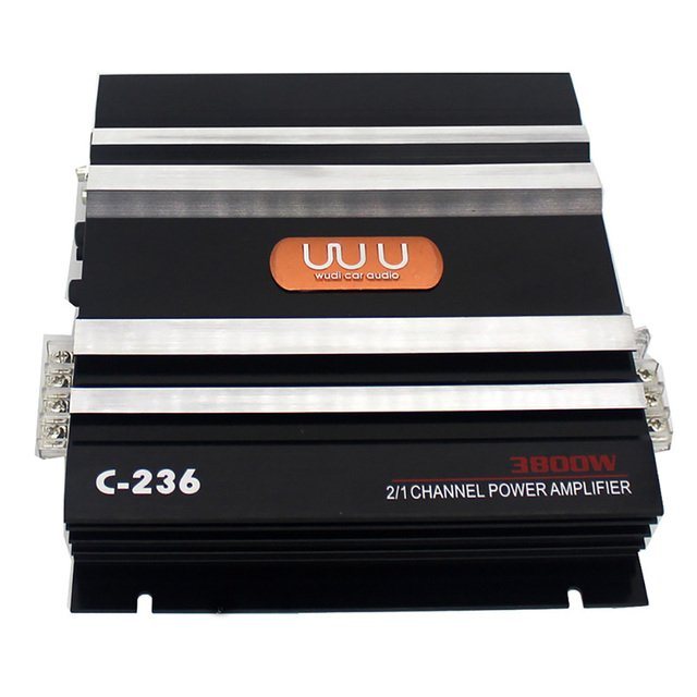 2 Channel Music Car Amplifier Accessories Bass Stereo Low Noise Electronics Subwoofer Vehicle Sound Automobiles Audio High Power