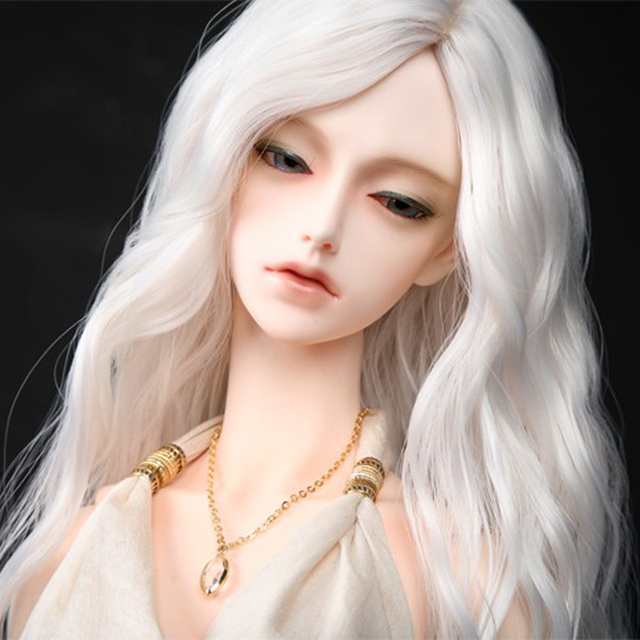 New Arrival 1/3 1/4 1/6 1/8 Bjd SD Doll Wig High Temperature Wire Long Fashion Wavy For Toy Hair