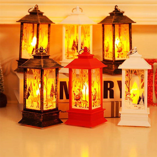 Christmas Decorations for Home Led 1 pcs Christmas Candle with LED Tea light Candles Christmas Tree Decoration Kerst Decoratie