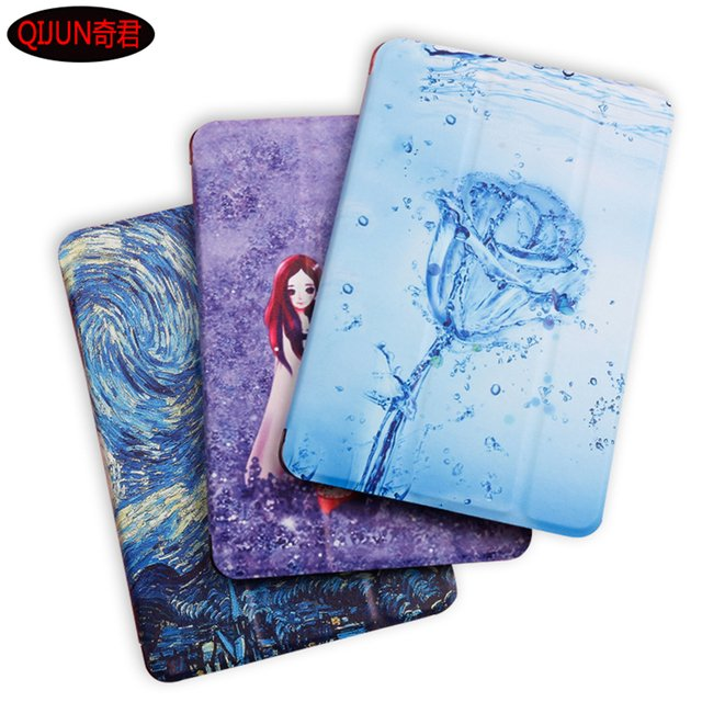 "Tablet Cover For Samsung Galaxy Tab A 8.0 inch (2019) SM-T290 T295 T297 8.0"" Case Flip Smart Painted Cartoon Stand Cover"