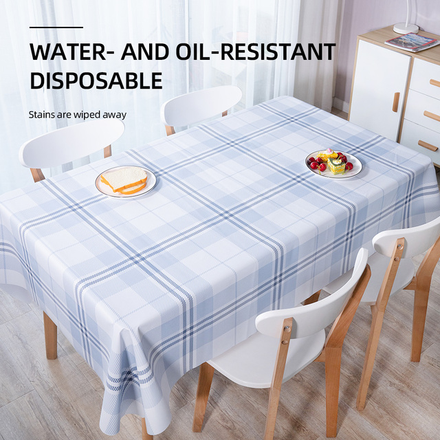 Waterproof Table Cover Rectangle Dining Table Accessories Restaurant Pvc Tablecloth For Kitchen Decoration Table Cloth Zb195 Buy Cheap In An Online Store With Delivery Price Comparison Specifications Photos And Customer Reviews