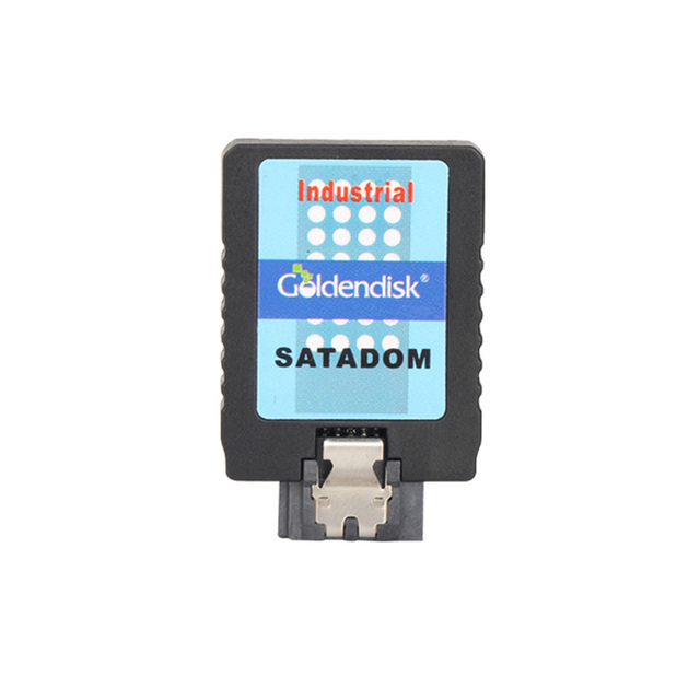 Goldendisk GD Serial 7PIN SATA DOM 64GB Disk on Module MLC Dual Channel Vertical for ATM/POS Teminals machines