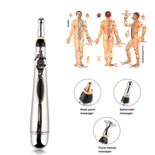 Electronic Acupuncture Pen Electric Meridians Laser Therapy Heal Massage Pen Meridian Energy Pen Relief Pain Tools Medicine