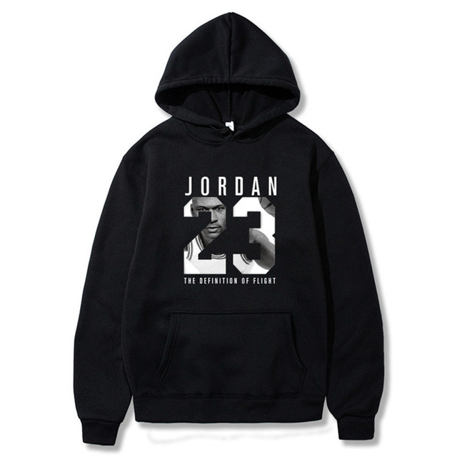 2019 Brand Male Hip Hop Long Sleeve JORDAN 23 Hooded Sweatshirt Mens Hoodie Tracksuit Sweat Coat Casual Sportswear Hoodies