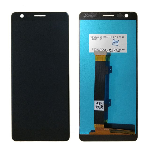 """N3.1 Screen for Nokia 3.1 LCD Display Touch Screen Digitizer Assembly Replacement Parts 5.2"""" LCD for Nokia N3.1 Display TA-1063"""