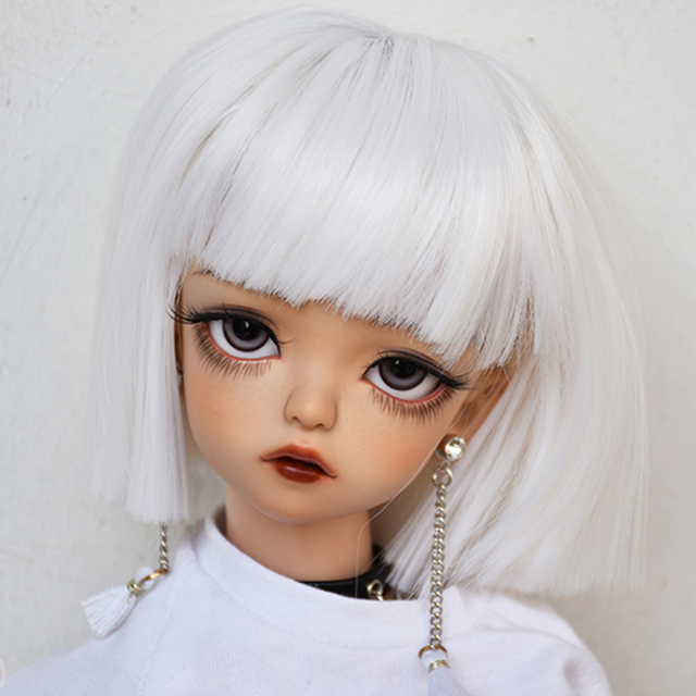 1/3 1/4 1/6 1/8 Bjd SD Wig Hair High Temperature Short Cool Wig Wire BJD Wig For BJD Doll Wig