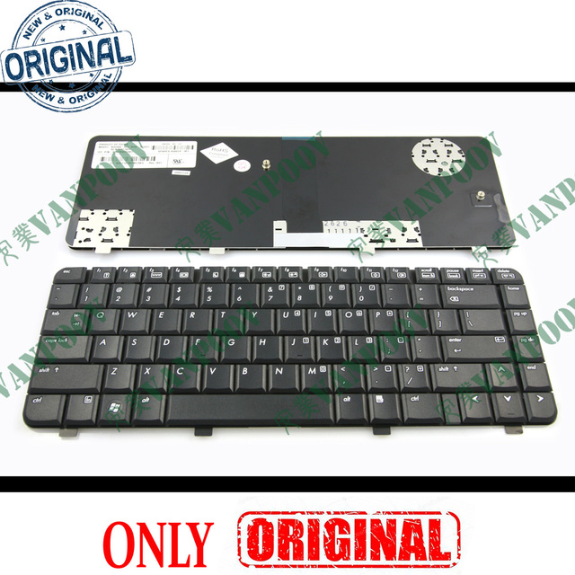 New Notebook Laptop keyboard for HP Compaq 6520S 6720S 540 550 Black US Version - NSK-H5Q01