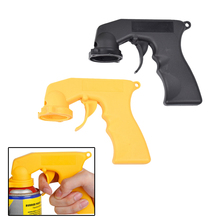 Car Paint Care Maintenance Painting Paint Tool Aerosol Spray Can Gun Handle With Full Grip Trigger Adapter Locking Collar