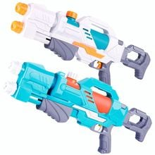 Water Pistols 2 Colours, 26,5cm Space Water Gun Outdoor Fun Games Water Sports