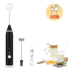 Electric Hand Mixer Egg Cake Beater Dough Whisk Hand Blender Coffee Frother