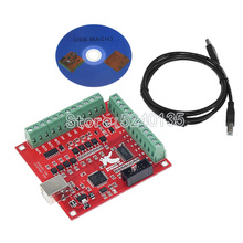 CNC USB MACH3 100Khz Breakout Board 4 Axis Interface Driver Motion Controller CNC USB MACH3 100Khz Breakout Board 4 Axis In
