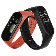 2019 New Smart Pedometer Band Fitness Bracelet IP67 Waterproof 0.96 Touch Color Screen Smart Reminder Bluetooth Sports Bracelets
