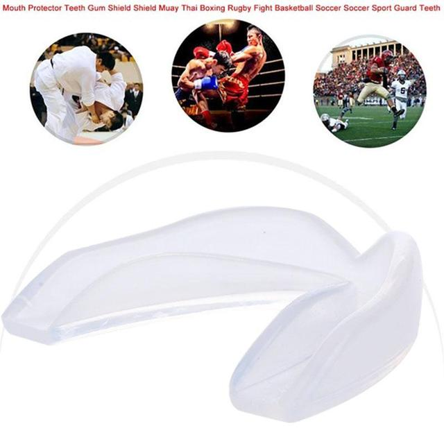 Gum Shield Silica Gel Boxing Mouth Guard Sports Mouthguard Clear Adult Tooth Kicking Teeth Taekwondo Oral Cavity