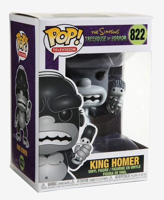 Funko pop Official Simpsons - King Homer Vinyl Action Figure Collectible Model Toy with Original Box