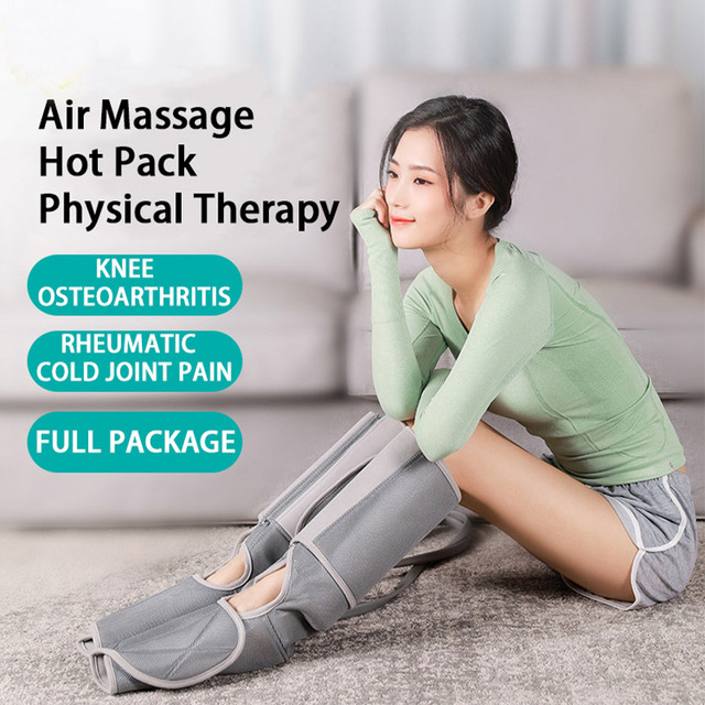 Leg Foot Massager Air Compression Feet Machine Massage Pieds Electric Circulation Leg Wraps For Body Foot Ankles Calf Therapy