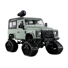 1:16 Rc 2.4Ghz 4Wd Tracked Wheel Metal Frame Rc Car Rtr Toy green