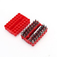 Hollow Bit Set Carbon Steel Shaped Screwdriver Bit Electric Screw Driver Multifunctional Combination Set 33 Pieces