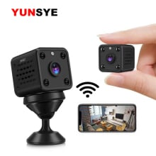 1080P wireless mini WiFi camera home surveillance camera IP CCTV surveillance infrared night vision baby monitor battery camera
