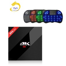 H96 Pro + 3g 32G 2,4G 5GHz Wifi 4K box Amlogic S912 Top set box Smart tv box android 7,1 Android tv box H96 plus Vs X96
