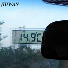1Pc Car LCD Digital Thermometer Auto Window Outdoor Energy-saving Gauge Smart Number Display Temperature Instruments Accessories