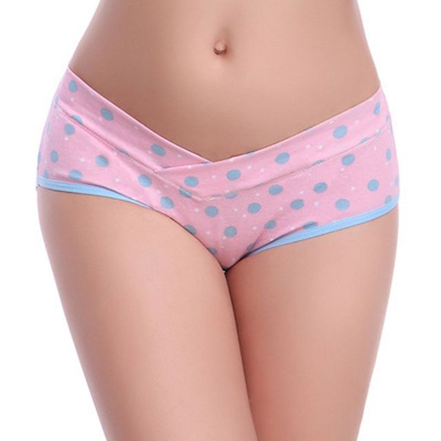 New 3pcs/set  M/L/XL/XXL Cotton U-Shaped Low Waist Maternity Underwear Pregnant Women Panties Pregnancy Briefs