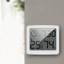 Temperature Humidity Monitor 3.2inch Thermometer Automatic Large LCD Screen Hygrometer 1Pc Multifunction Electronic